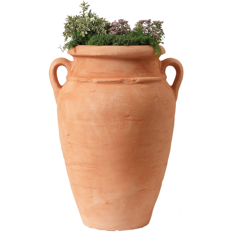 Garantia Pflanz-Amphore Antik Terracotta | Garten > Pflanzen > Pflanzen | Rot terracotta | Kunststoff | Garantia