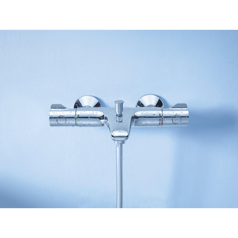 Bevorzugt Grohe Wannenarmatur Grohtherm 800 mit TurboStat-Technologie kaufen MV64