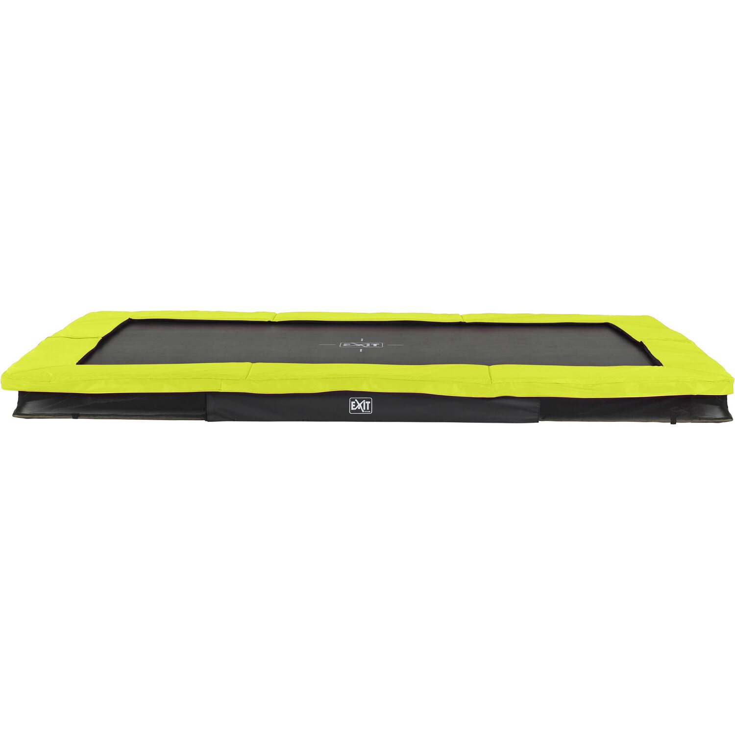 Exit Bodentrampolin Silhouette Eckig 214 cm x 3...