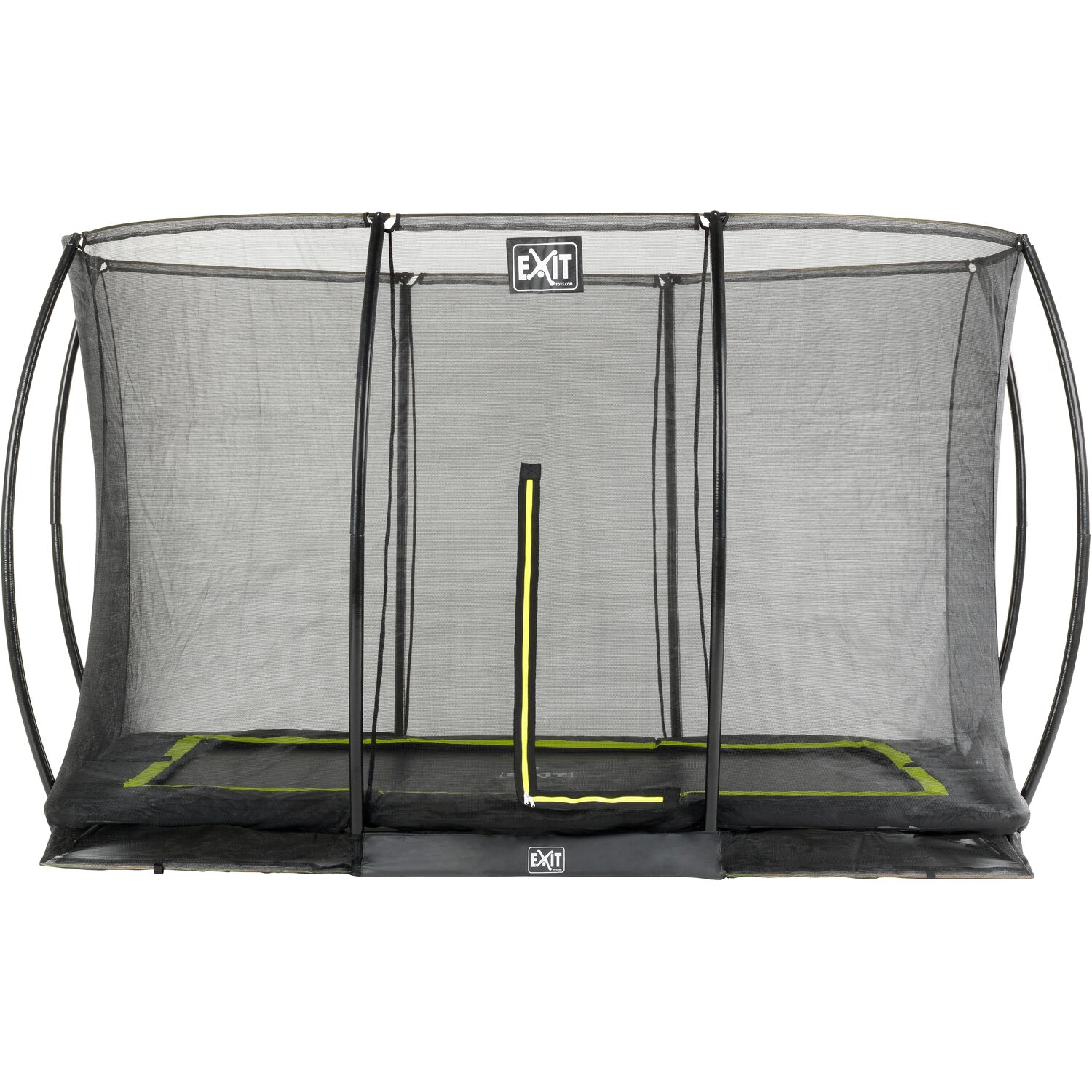 Exit Bodentrampolin Silhouette Eckig 244 cm x 3...
