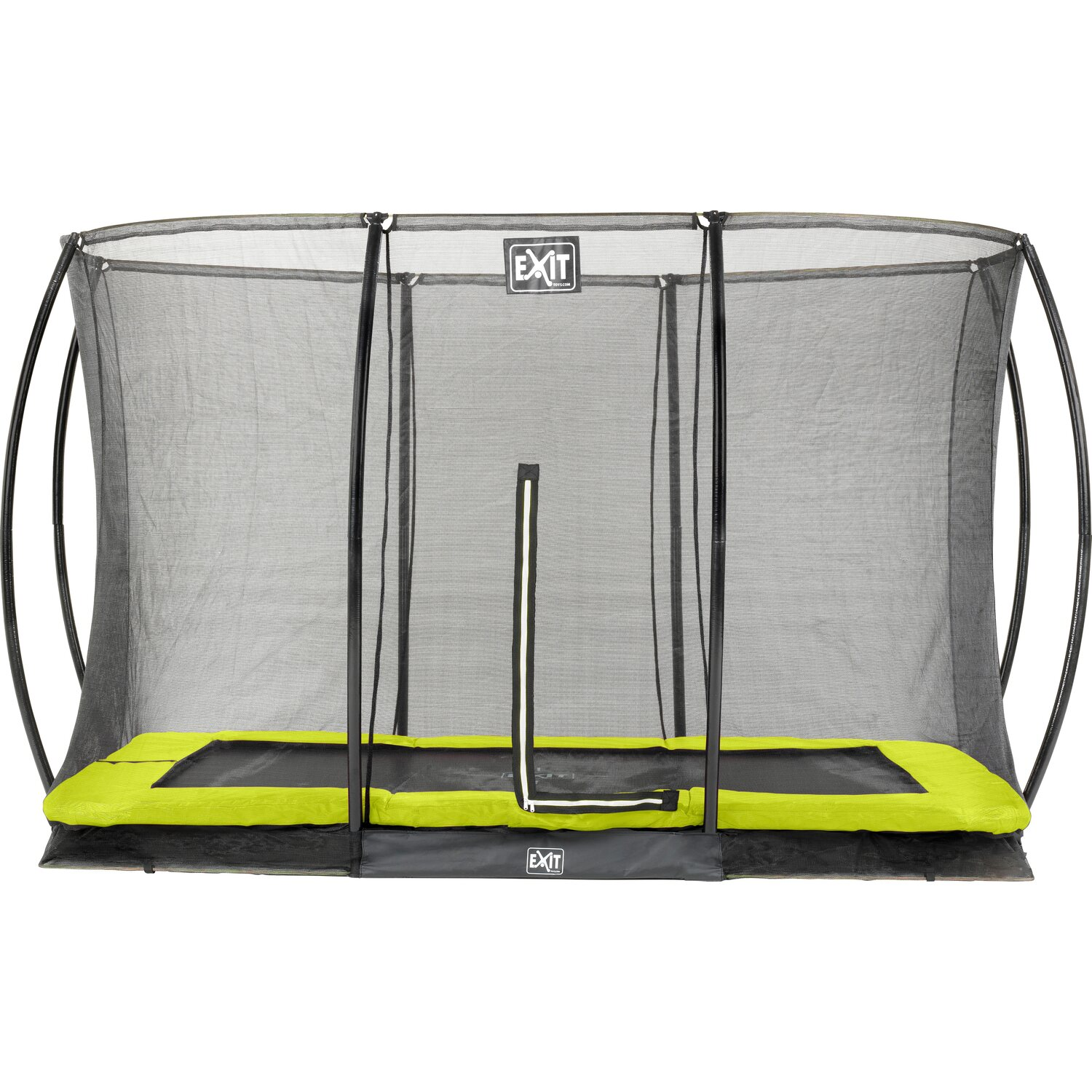 Exit Bodentrampolin Silhouette Eckig 214 x 305 ...