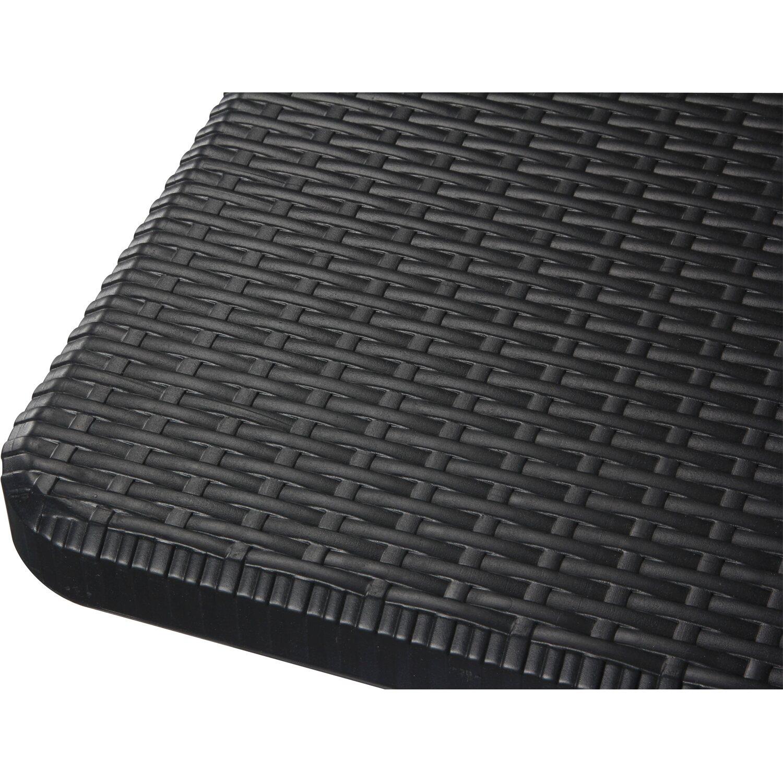 perel klappstuhl polyrattan optik schwarz kaufen bei obi. Black Bedroom Furniture Sets. Home Design Ideas