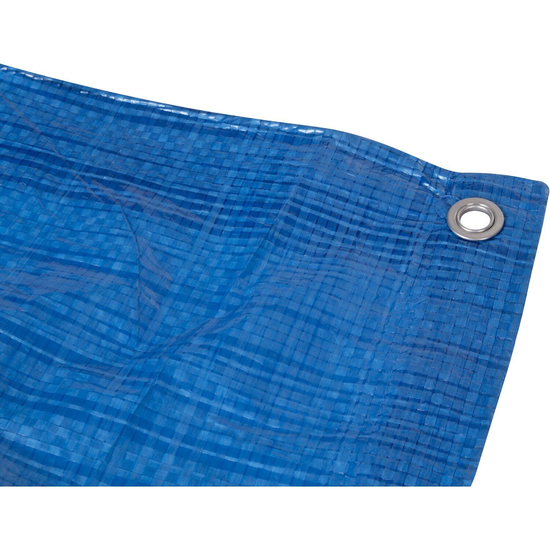 Onetools abdeckplane hellblau 400 cm x 500 cm kaufen bei obi for Obi abdeckplane