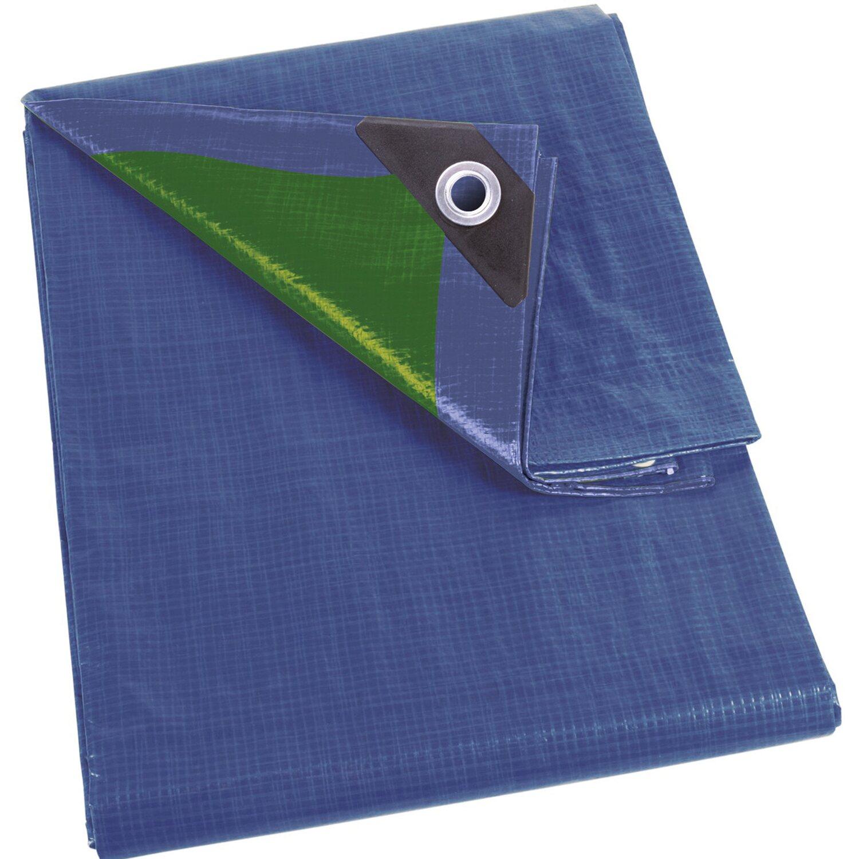 Perel abdeckplane blau gr n 300 cm x 200 cm kaufen bei obi for Abdeckplane obi