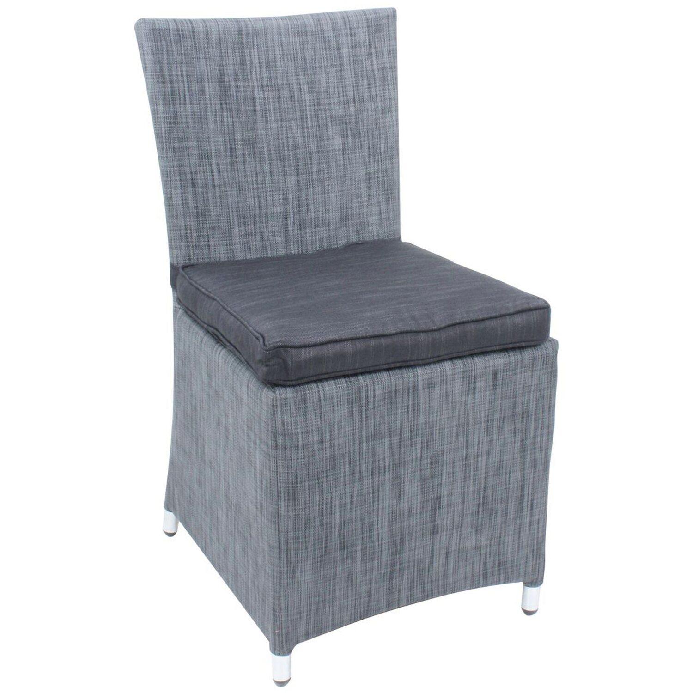 Garden Pleasure Stuhl Odessa Grau kaufen bei OBI