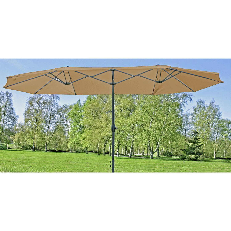 Garden Pleasure Doppel-Sonnenschirm
