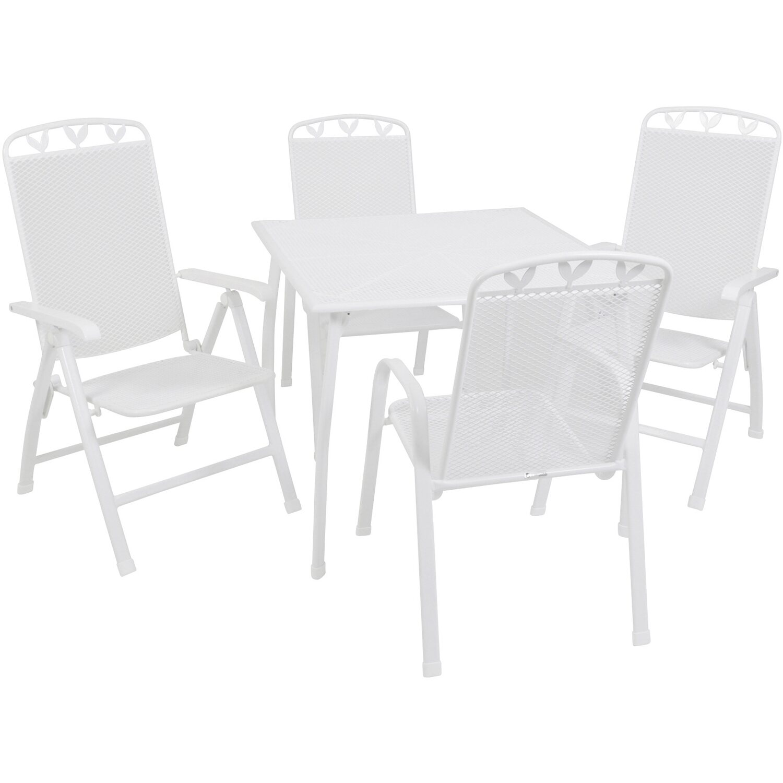 greemotion dining set toulouse 9 wei 5 tlg kaufen bei obi. Black Bedroom Furniture Sets. Home Design Ideas
