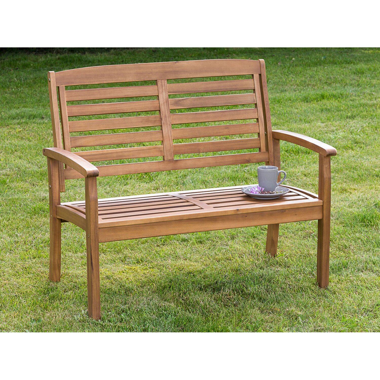 gartenbank paraiba 2 sitzer braun kaufen bei obi. Black Bedroom Furniture Sets. Home Design Ideas