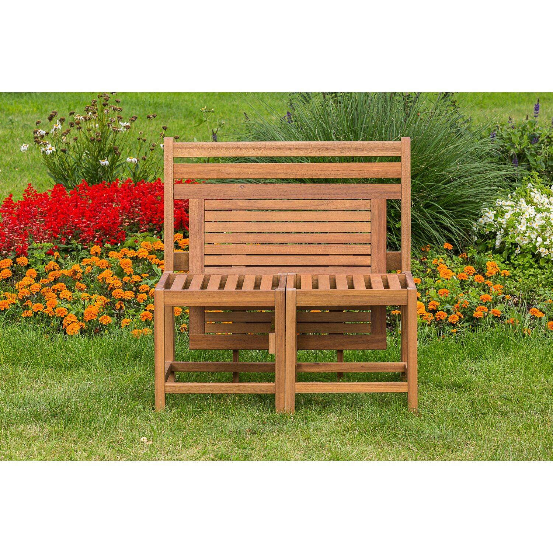 Kombinations-Gartenbank-Set Mirante 2-Sitzer Akazie Natur kaufen bei OBI