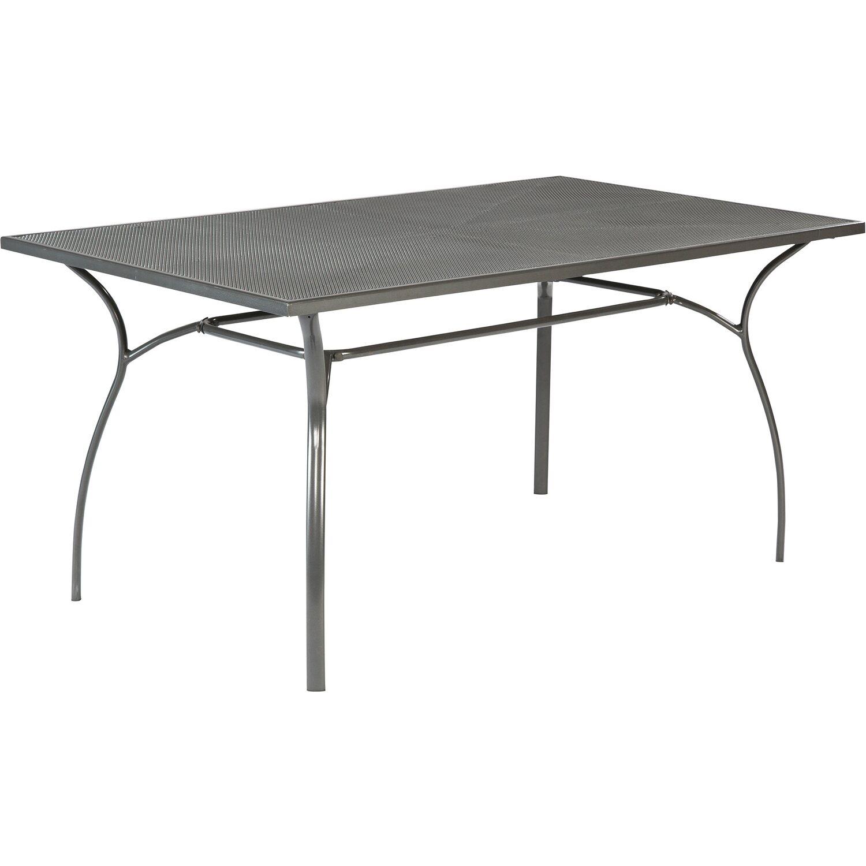 gartentisch paxos graphit 150 cm x 90 cm kaufen bei obi. Black Bedroom Furniture Sets. Home Design Ideas