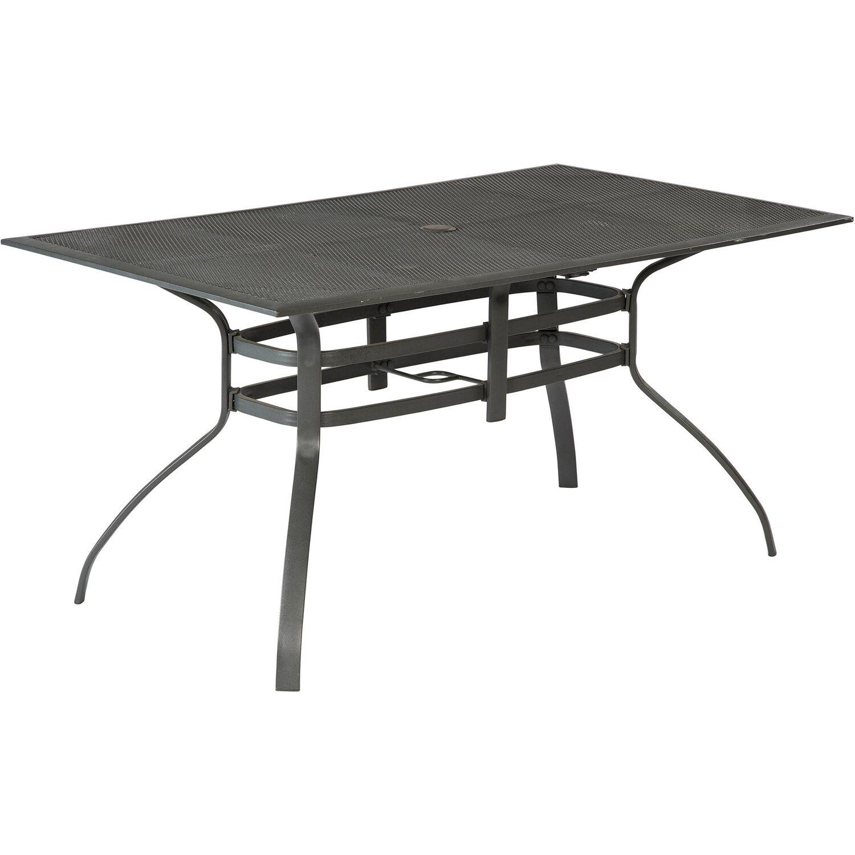 Gartentisch 150.Gartentisch 150 Cm X 85 Cm Graphit