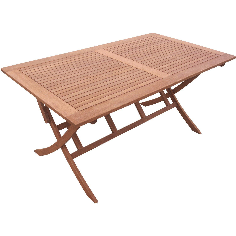 gartenklapptisch 160 cm x 90 cm eukalyptus kaufen bei obi. Black Bedroom Furniture Sets. Home Design Ideas