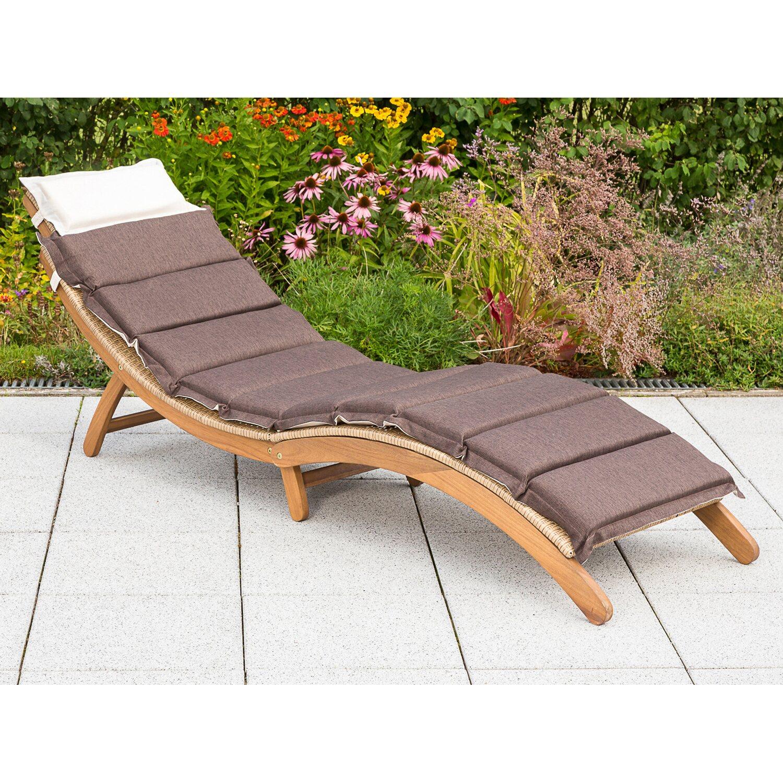 auflage gartenliege beautiful grasekamp auflage gartenliege liegestuhl sonnenliege relaxliege. Black Bedroom Furniture Sets. Home Design Ideas