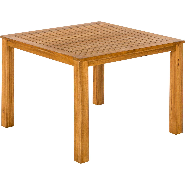 Gartentisch 110 Cm X 110 Cm Akazie Kaufen Bei Obi