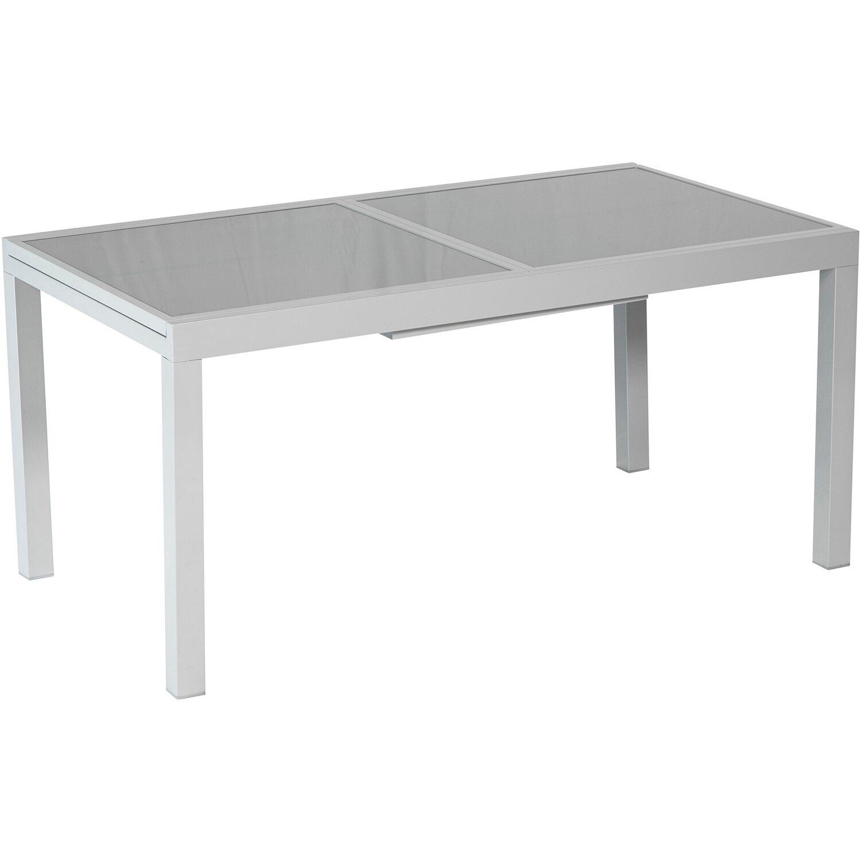Merxx Gartentisch 180/240 cm x 100 cm Ausziehbar Grau