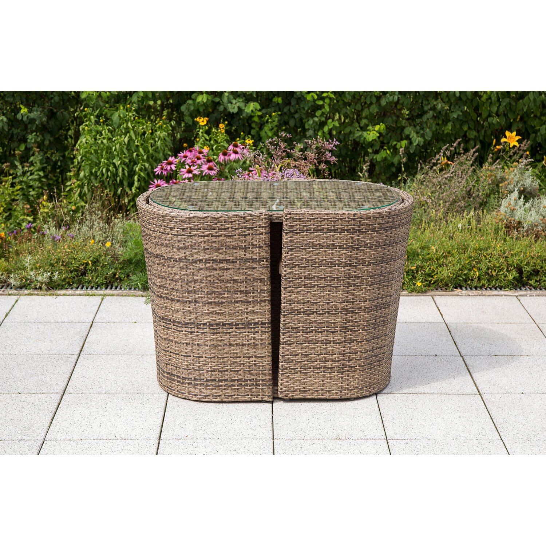 Gartenmöbel Set Ancona 3 tlg. Natur kaufen bei OBI
