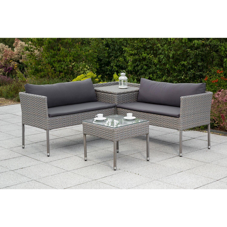 Rattan balkon  grau-rattan-polyrattan- Balkon-Sets online kaufen | Möbel ...