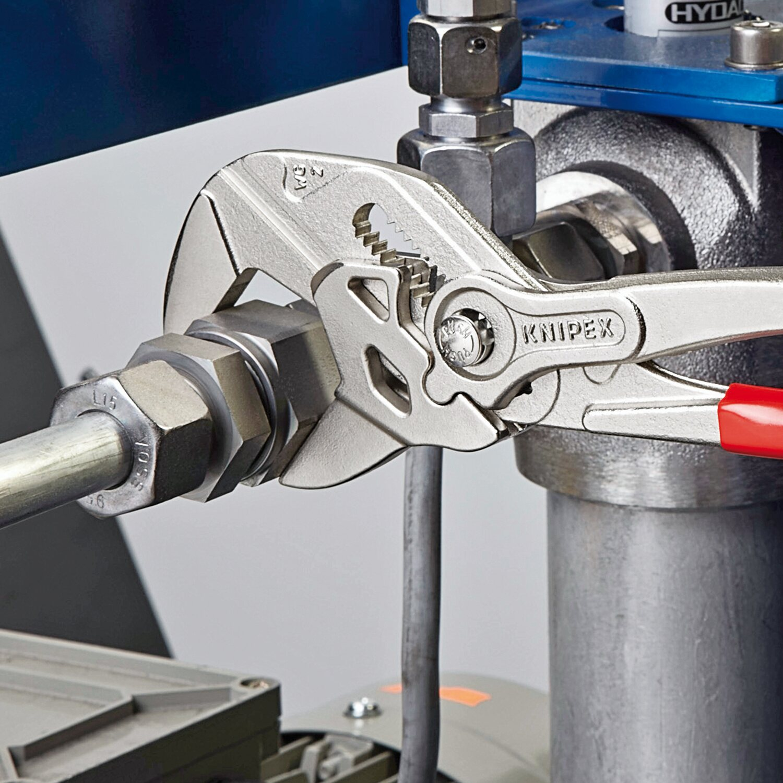 Knipex Zangenschlussel Verchromt 150 Mm Mini Kaufen Bei Obi