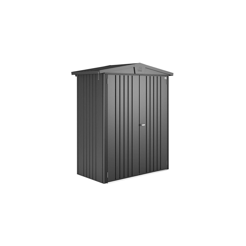 biohort ger tehaus europa gr e 1 dunkelgrau metallic 172 cm x 84 cm kaufen bei obi. Black Bedroom Furniture Sets. Home Design Ideas