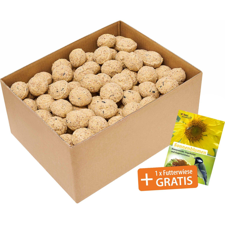 meisenkn del 200 st ck mit netz inkl 3 halter zum aufh ngen kaufen bei obi. Black Bedroom Furniture Sets. Home Design Ideas