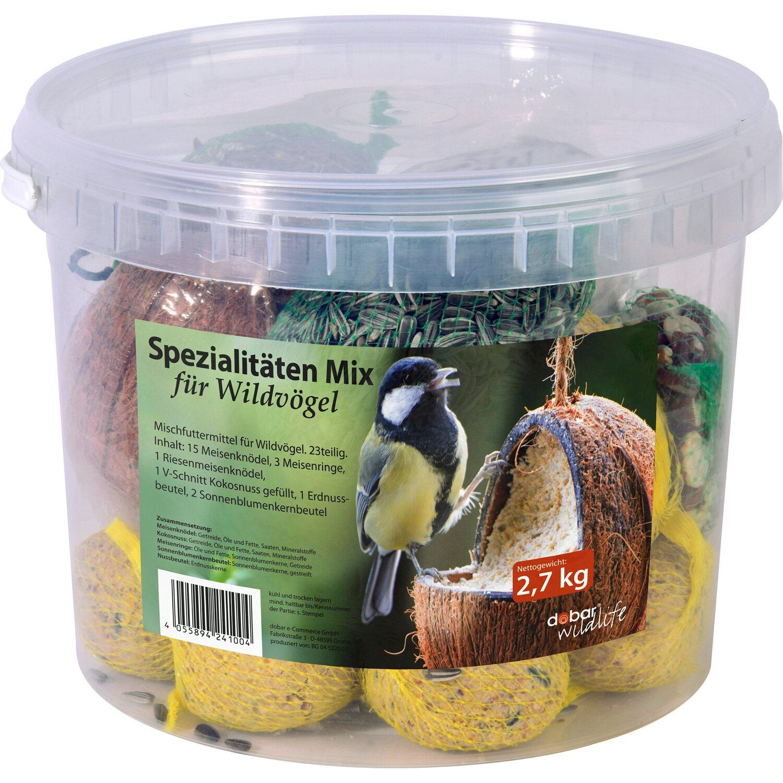 vogelfutter spezialit ten mix f r wildv gel 23 teilig im eimer kaufen bei obi. Black Bedroom Furniture Sets. Home Design Ideas