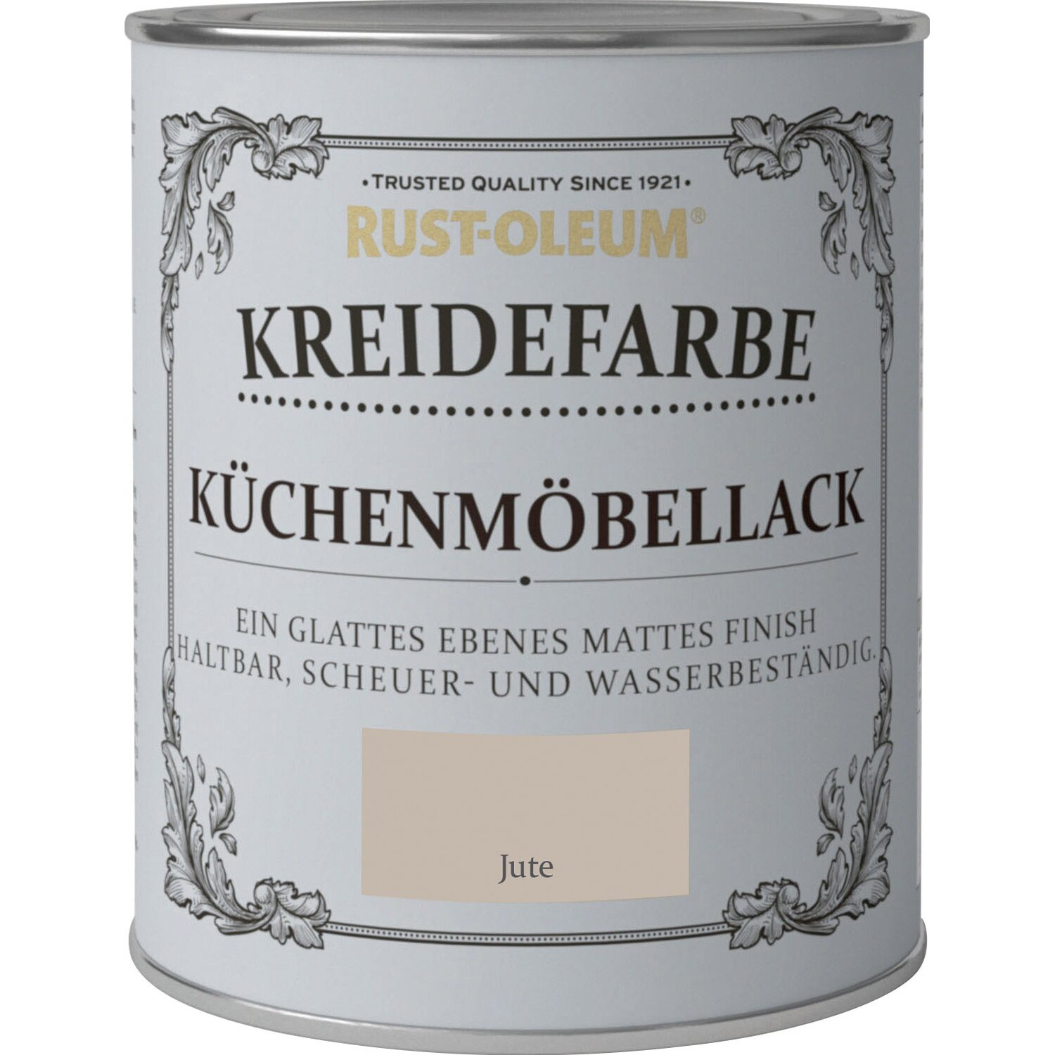 rust oleum kreidefarbe k chenm bellack jute matt 750 ml. Black Bedroom Furniture Sets. Home Design Ideas