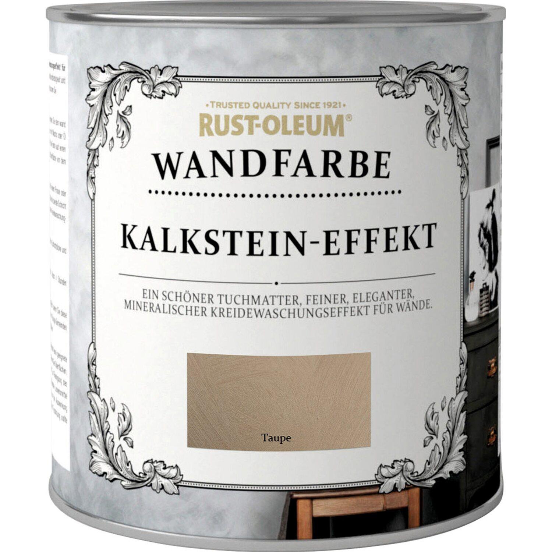 Rust-Oleum Kalkstein-Effekt Wandfarbe Taupe Matt 1 L