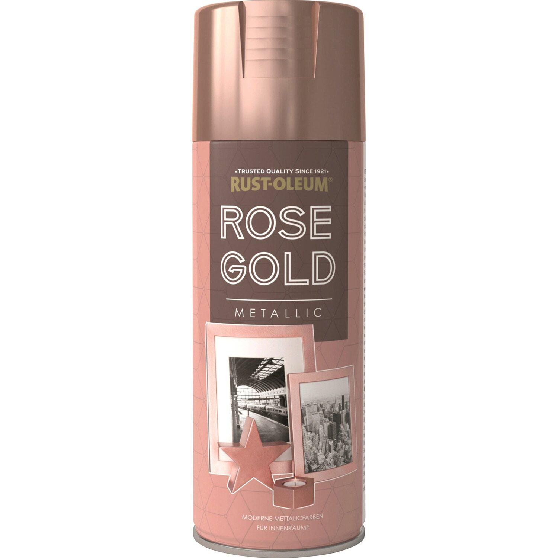 rust-oleum roségold metallic 400 ml kaufen bei obi