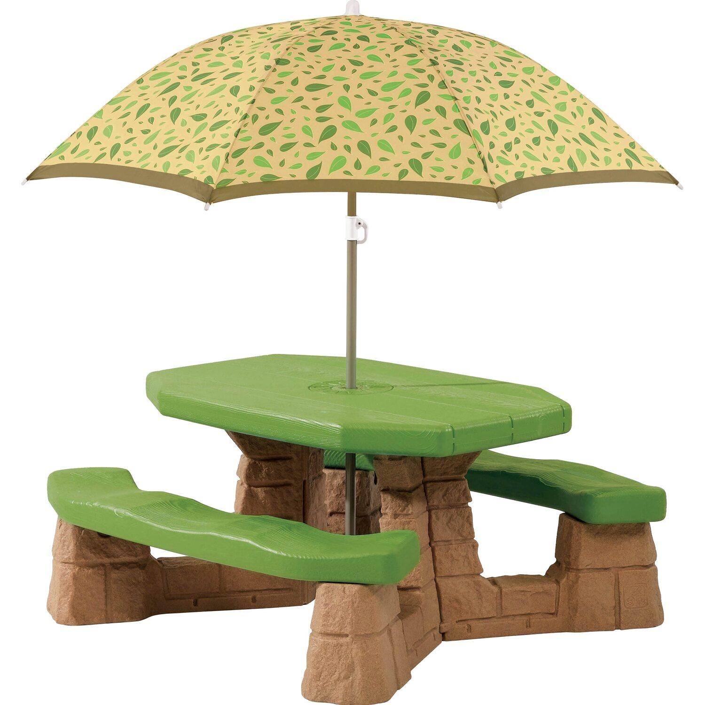 Picknicktisch mit Sonnenschirm | Baumarkt > Camping und Zubehör > Weiteres-Campingzubehör | Step2