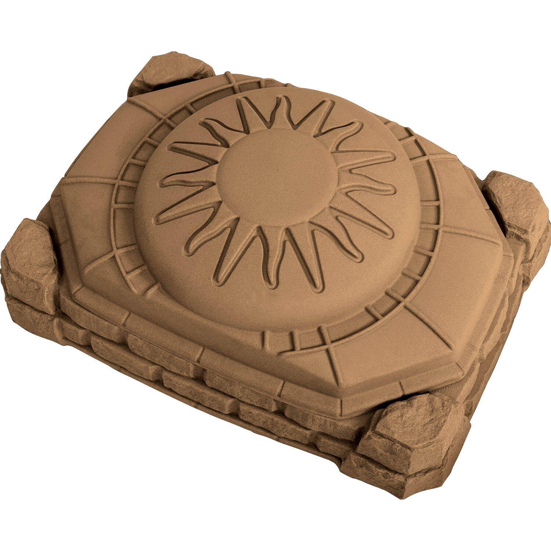 Sandkasten Border mit Deckel   Kinderzimmer > Spielzeuge > Sandkästen   Kunststoff   Step2