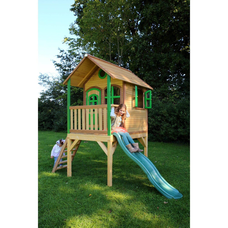 Spielhaus Laura mit Leiter und Rutsche
