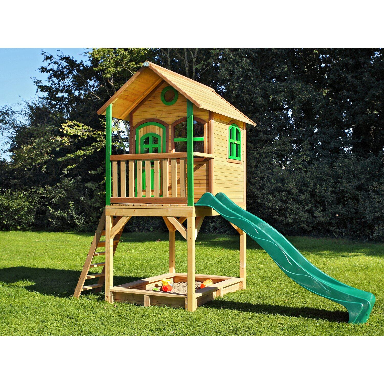 966fce09a9 Spielhaus Sarah mit Rutsche und Sandkasten kaufen bei OBI
