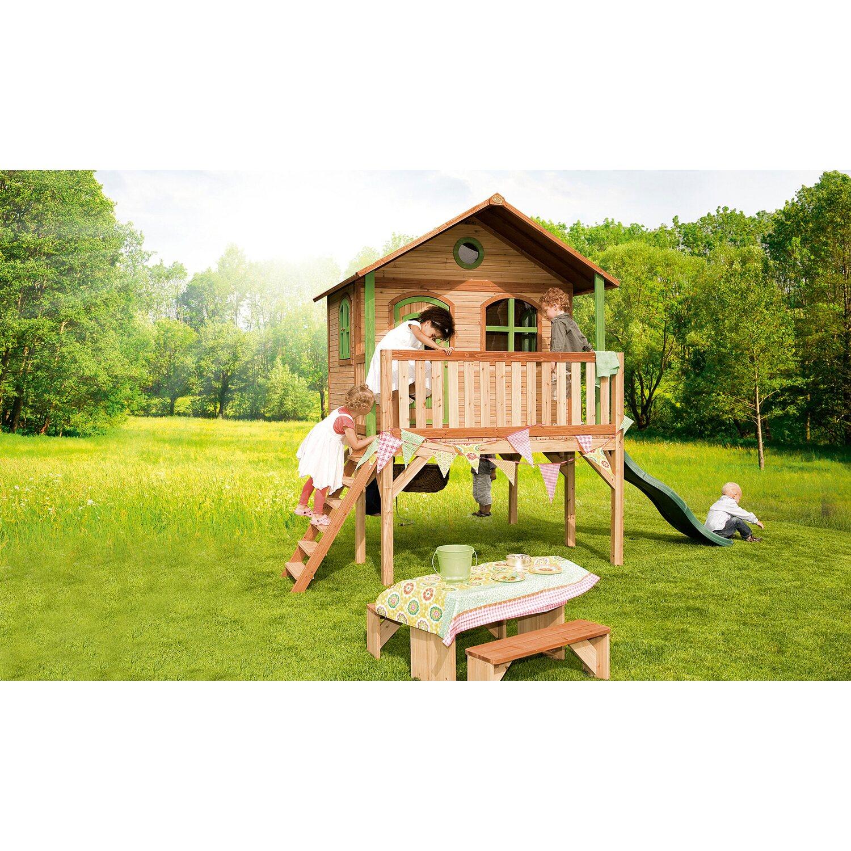 spielhaus sophie mit rutsche und sandkasten kaufen bei obi. Black Bedroom Furniture Sets. Home Design Ideas