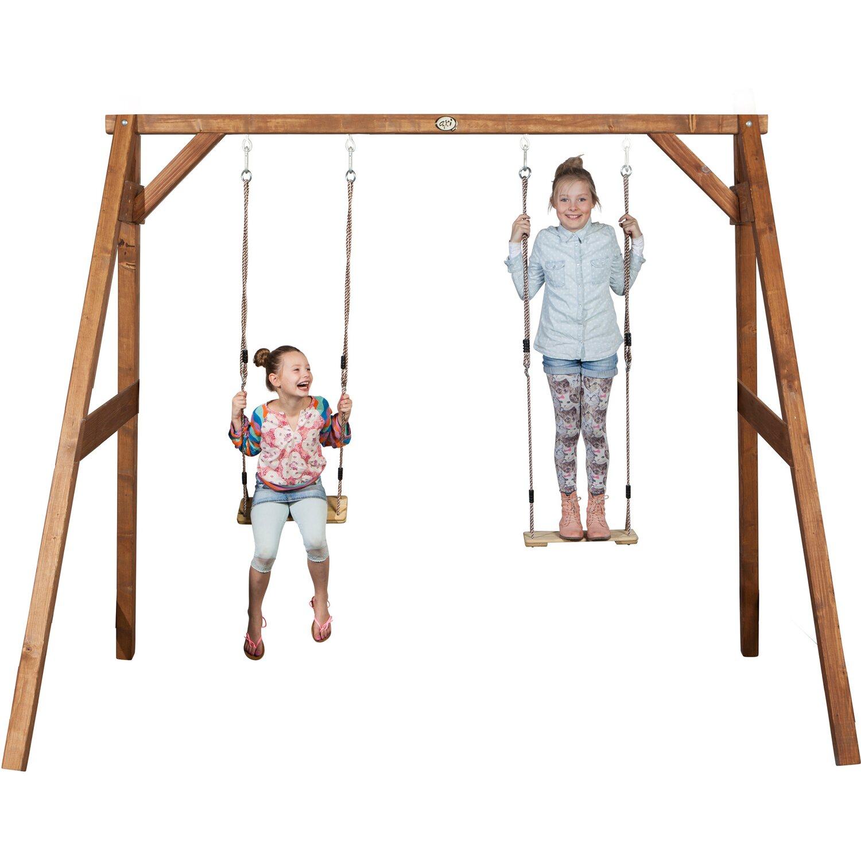 Schaukel Double Swing Braun kaufen bei OBI