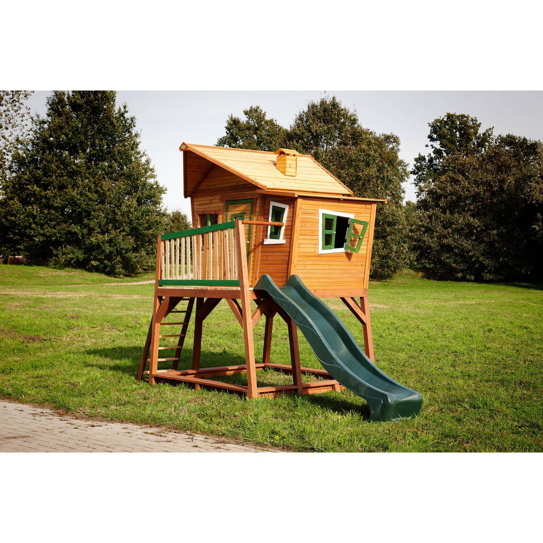 spielhaus max mit leiter rutsche und sandkasten kaufen bei obi. Black Bedroom Furniture Sets. Home Design Ideas