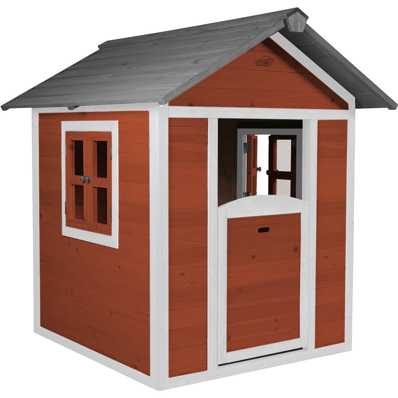 Spielhaus Lodge Rot
