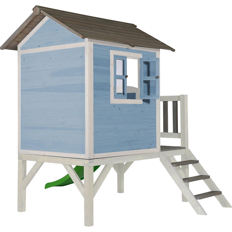 Spielhaus Lodge XL Caribean Blau/Weiß