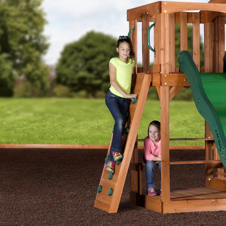 Spielturm- und Schaukel-Set Hill Crest kaufen bei OBI