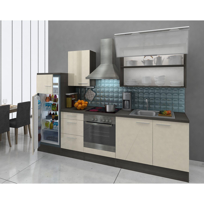 respekta premium k chenzeile rp280evacgke 280 cm vanille eiche grau nachbildung kaufen bei obi. Black Bedroom Furniture Sets. Home Design Ideas