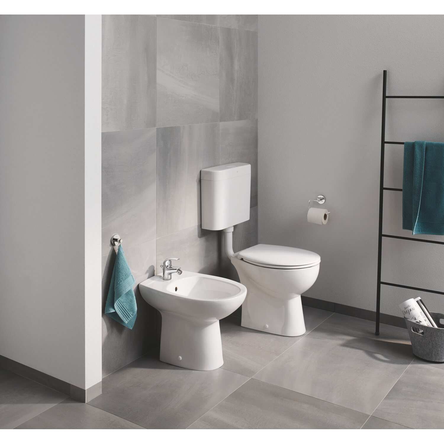 grohe stand wc bau keramik tiefsp ler sp lrandlos alpinwei kaufen bei obi. Black Bedroom Furniture Sets. Home Design Ideas