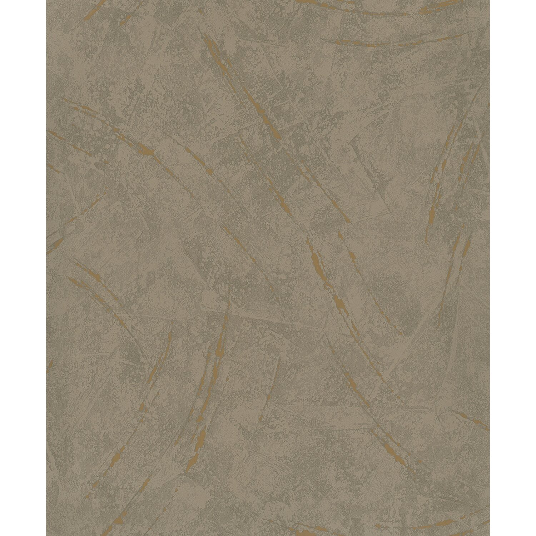 Vliestapete La Veneziana III Putzstruktur mit Metallic-Akzenten Braun | Baumarkt > Malern und Tapezieren > Tapeten