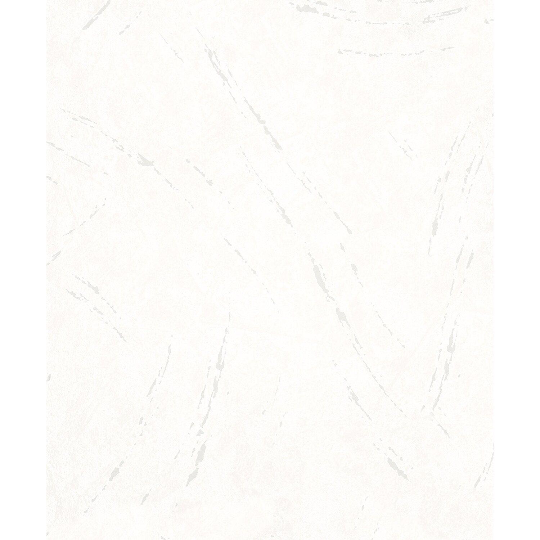Vliestapete La Veneziana III Putzstruktur mit Metallic-Akzenten Weiß   Baumarkt > Malern und Tapezieren > Tapeten   Metallic   La