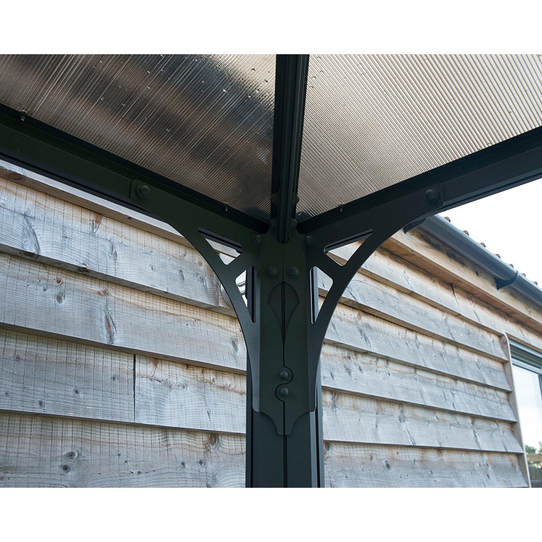 Palram pavillon palermo 4300 inklusive led lighting kit for Obi gazebo