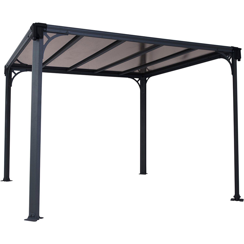 palram pavillon milano 3000 inklusive led lighting kit 309. Black Bedroom Furniture Sets. Home Design Ideas