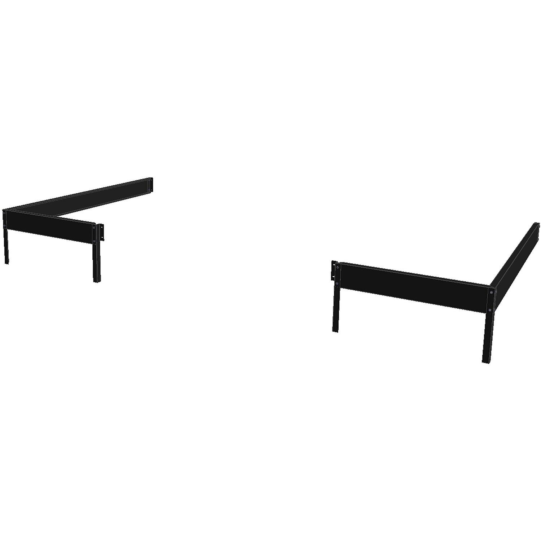 fundament f r juliana anlehn gew chshaus veranda 4 4 m. Black Bedroom Furniture Sets. Home Design Ideas