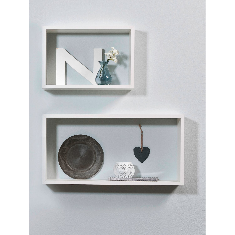 regal set kubus 2 teilig wei 12 mm kaufen bei obi. Black Bedroom Furniture Sets. Home Design Ideas