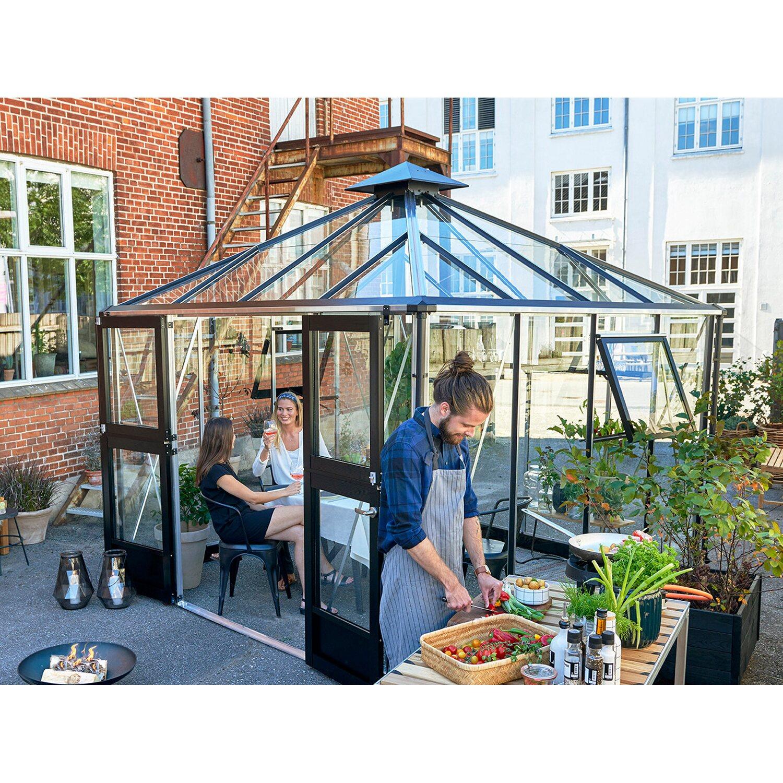 juliana gew chshaus oase 8 8 m anthrazit kaufen bei obi. Black Bedroom Furniture Sets. Home Design Ideas