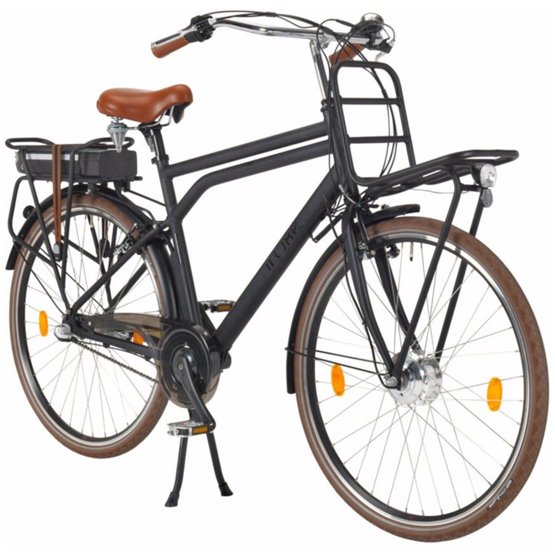 llobe e bike 28 hollandrad rosendaal gent herren schwarz kaufen bei obi. Black Bedroom Furniture Sets. Home Design Ideas