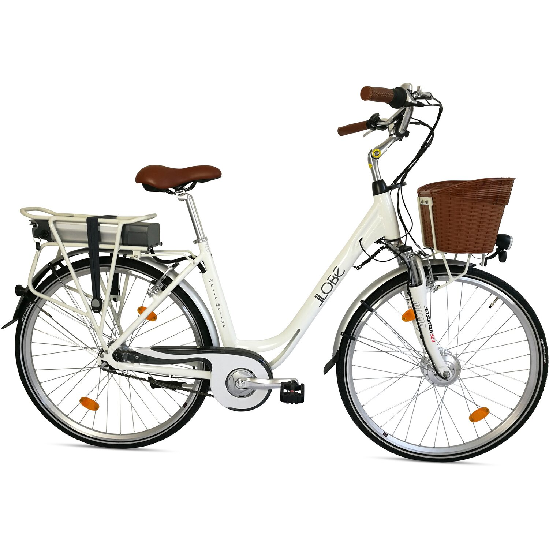 llobe city e bike 28 white motion 7 gang kaufen bei obi. Black Bedroom Furniture Sets. Home Design Ideas