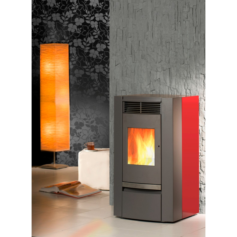 kleining pelletofen savona rubinrot kaufen bei obi. Black Bedroom Furniture Sets. Home Design Ideas